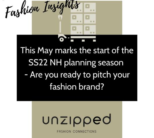 Fashion insights - SS22 wholesale planning season