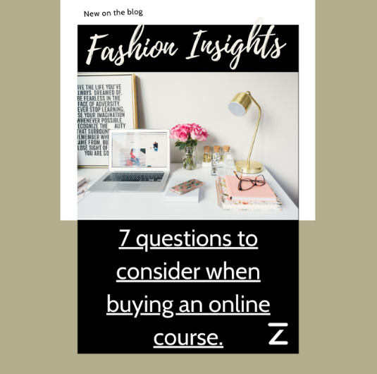 7 questions to consider when buying an online course.