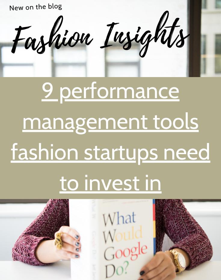 Fashion insights - 9 tools you need