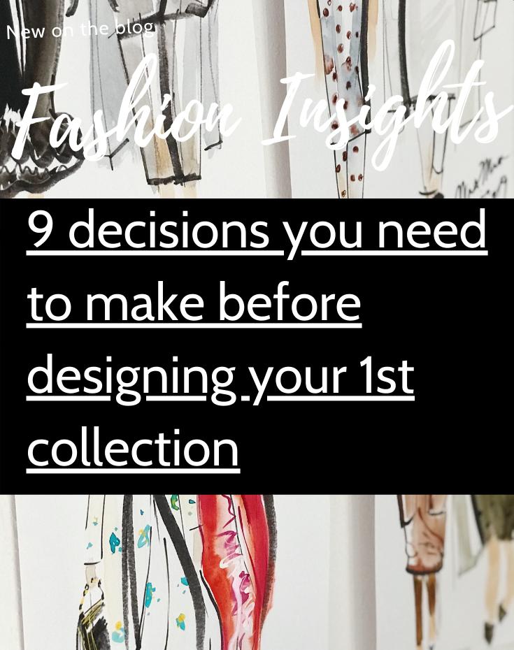 Fashion Insights - 9 decisions