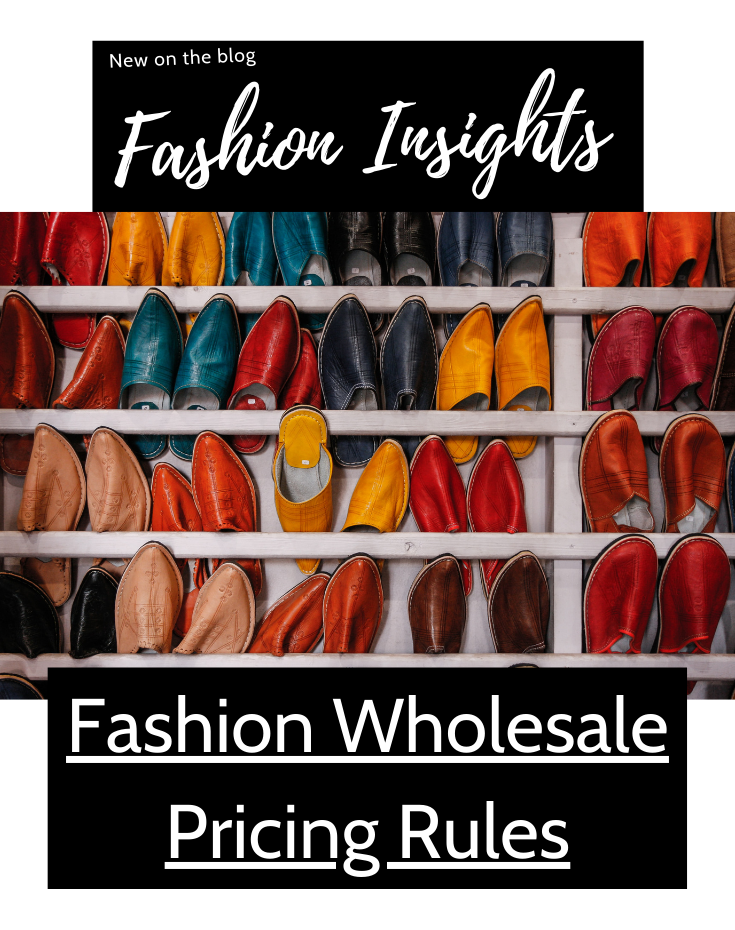 Fashion Wholesale Pricing Rules