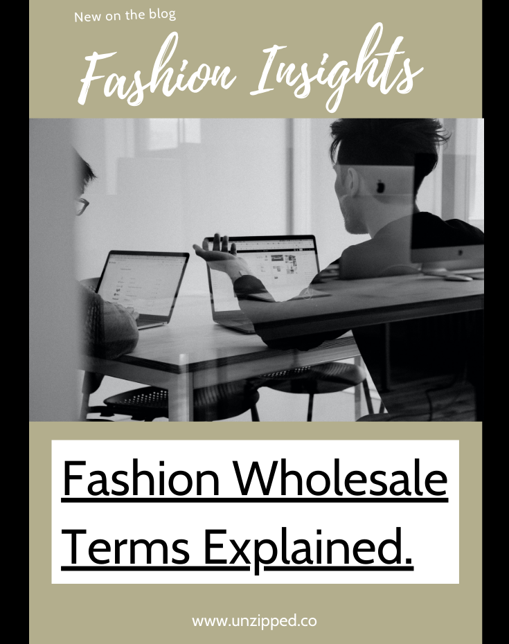 Fashion Wholesale Term Explained