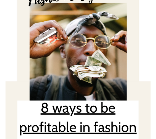8 ways to be profitable in fashion wholesale