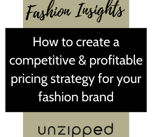 How to create a competitive & profitable pricing strategy