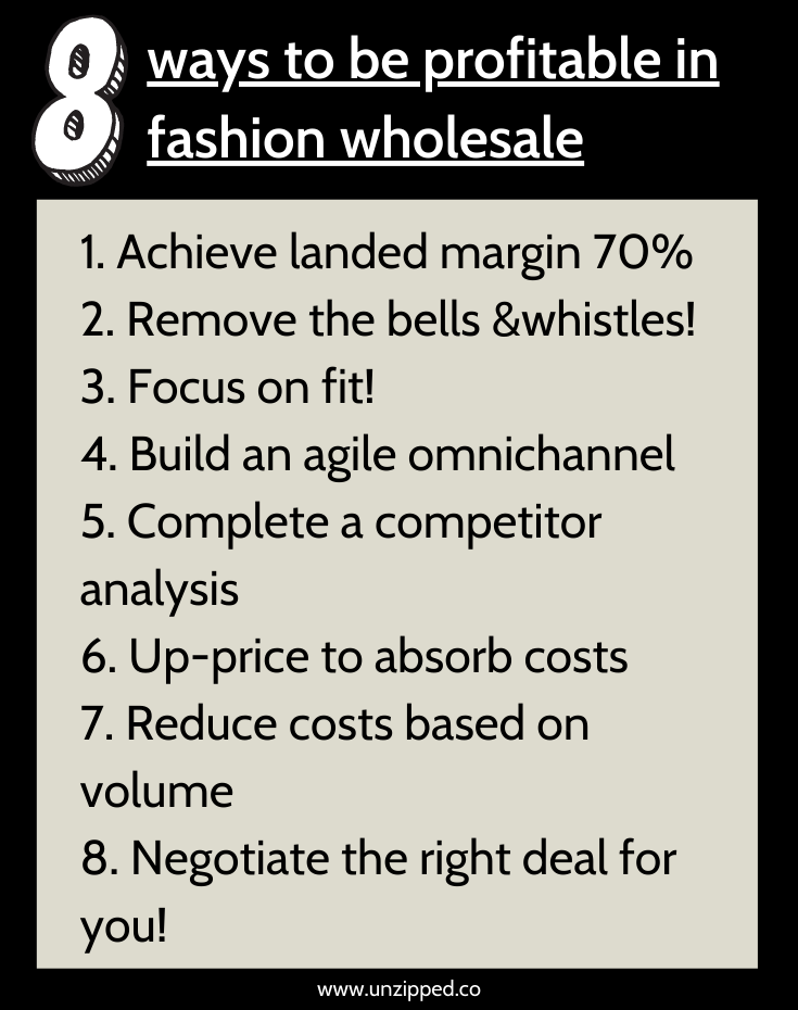 tips to being profitable in wholesale