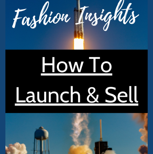How to launch & sell a product online
