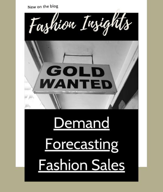Fashion insights - demand forecasting