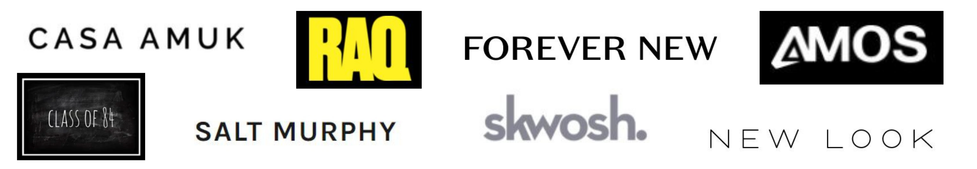 Testimonial - brands I've helped